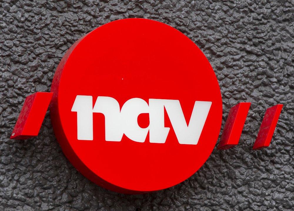 OSLO 20101103. Logo NAV, Arbeids- og velferdsforvaltningen. Eksteriør. Foto: Morten Holm / Scanpix
