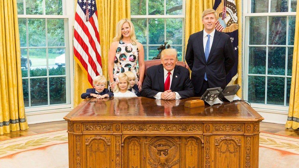 SIER NEI: Nick Ayers vil ikke ha jobben som Donald Trumps nye stabssjef.