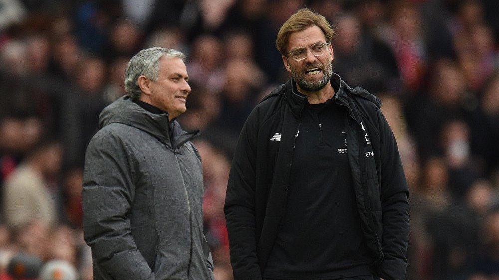 - HAN ER INGEN SUKSESS, ENNÅ: José Mourinho sa hva han mente om Jürgen Klopps prestasjoner i Liverpool, under fredagens pressekonferanse.