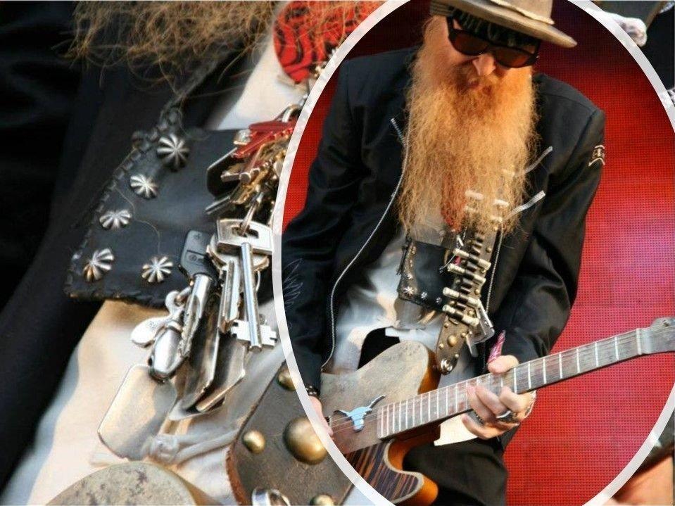 Billy Gibbons, ZZ Top under Notodden Blues Festival