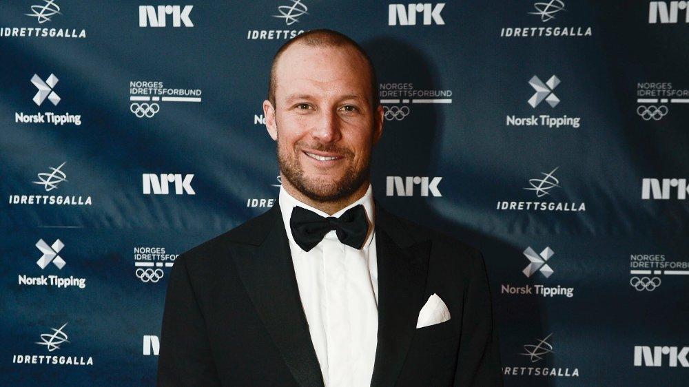 I FINSTASEN: Aksel Lund Svindal på vei inn på rød løper til Idrettsgallaen 2019 i Stavanger, som er vertsby for Idrettsgallaen for første gang.