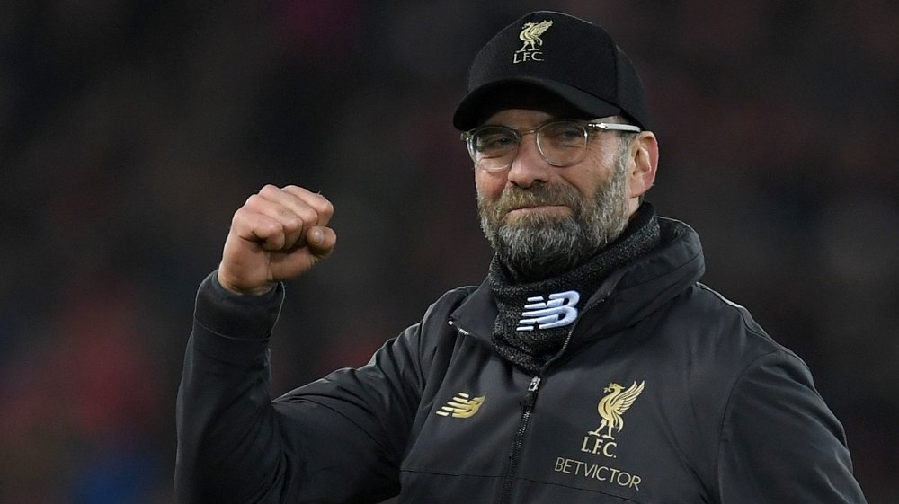 HYLLES: Jürgen Klopp får mye av æren for Liverpools fantastisk sesong.