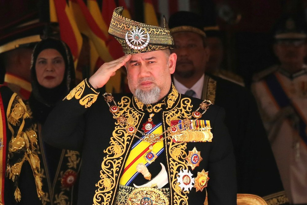 Malaysias kong Sultan Muhammad V har abdisert. Foto: AP / Yam G-Jun / NTB scanpix