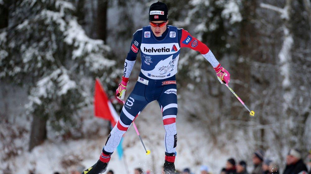 TIL TOPPS: Johannes Høsflot Klæbo vant Tour de Ski.