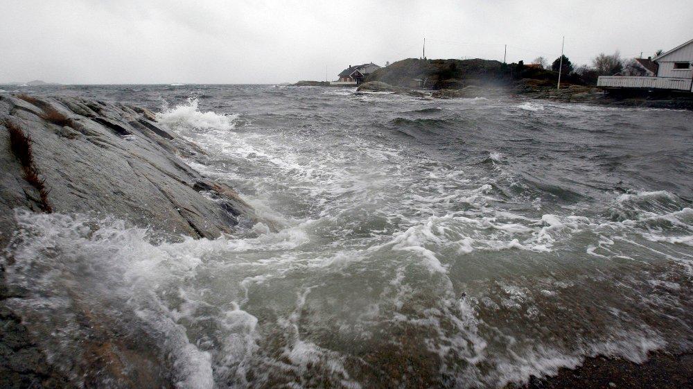 Det ventes mye vind i Nord-Norge denne uken. Foto: Tor Erik Schrøder / SCANPIX .