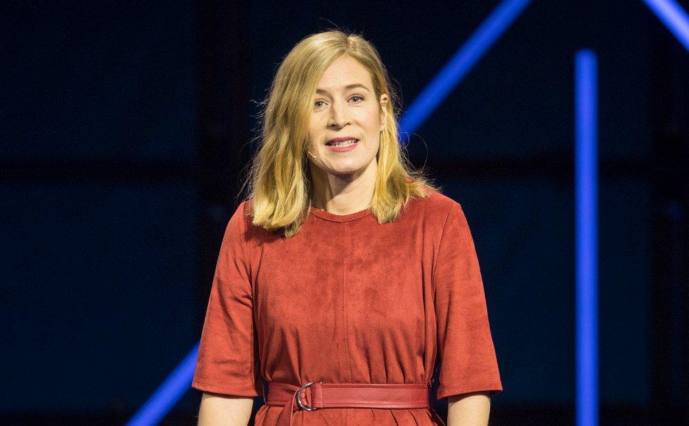 MÅ SKJERPE SEG: Karin Pettersson er direktør i Schibsted. Hun mener nordmenn må tenke seg mer om.