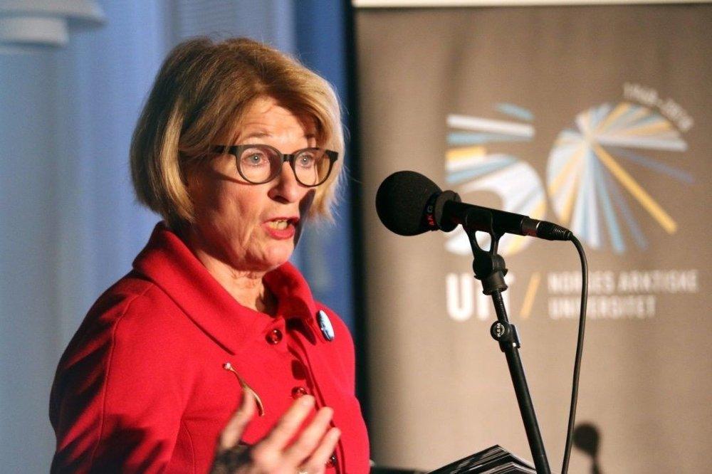 PENGEBRUK: Rektor ved Universitetet i Tromsø Anne Husebekk, må legge en plan for å bruke mer penger.