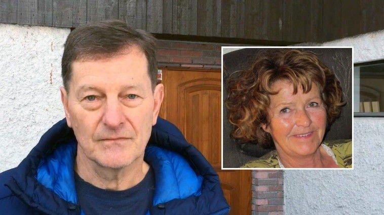 Rolf Arne Letvik er bekymret nabo til bortførte Anne-Elisabeth Falkevik Hagen (innfelt). Han er skeptisk til at politiet ikke har gått ut med informasjon i saken tidligere.
