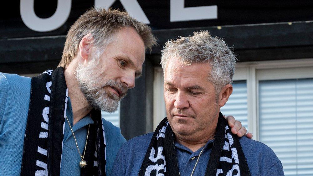 ØNSKER MER: Eirik Hoftun og Kåre Ingebrigtsen krever mer penger etter å ha blitt sparket av Rosenborg juli 2018.