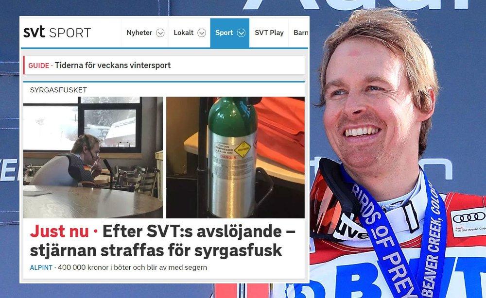 DISKVALIFISERT: Stefan Luitz ble diskvalifisert etter å ha inhalert oksygen mellom omgangene.