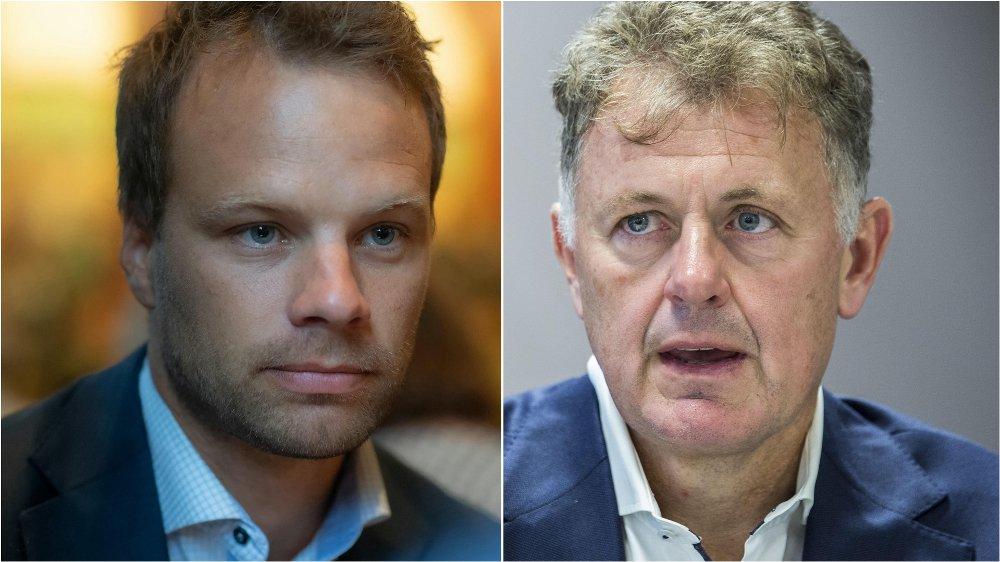 Jon Helgheim (Frp) er uenig med Gunnar Stavrum i hva innvandringsstatistikken sier.