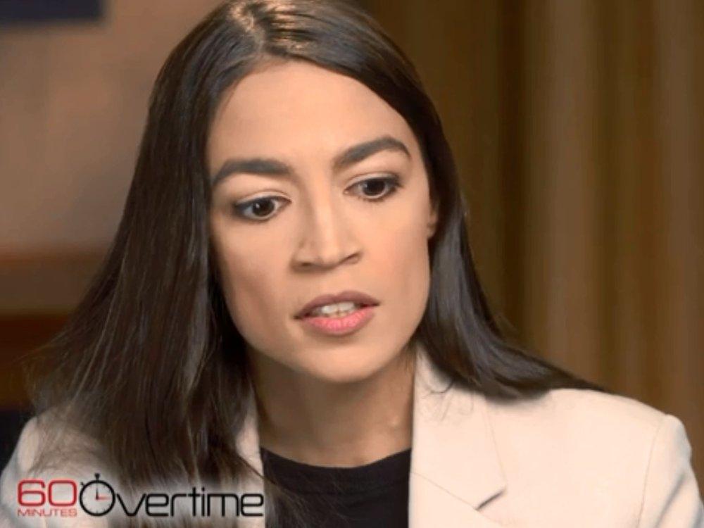 Kongressmedlem Alexandria Ocasio-Cortez ble i helgen intervjuet av Anderson Cooper i TV-magasinet 60 Minutes.