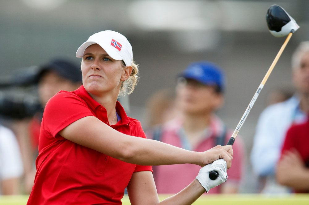 Marianne Skarpnord imponerer i turneringen i Abu Dhabi og er med i seierskampen før siste runde lørdag. Foto: Heiko Junge / NTB scanpix