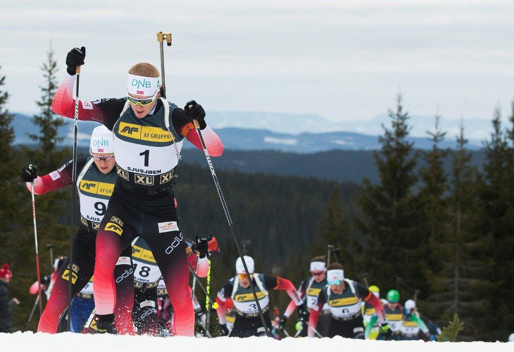 SEIER: Johannes Thingnes Bø vant.