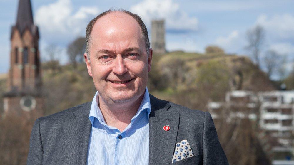 UAKTUELT: Morten Stordalen sier det er helt uaktuelt å snakke om et forbud mot dieselbiler for Fremskrittspartiet. Foto: Bjørn Inge Bergestuen (Fremskrittspartiet)