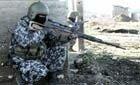 Russisk soldat i Tsjetsjenia