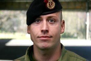 NY SJEF: Løytnant Joachim Strøm-Erichsen får sin egen mor som øverste sjef.