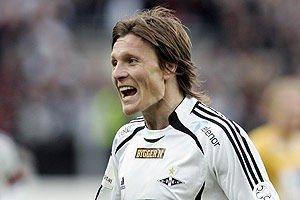 Scoret to mål mot Start (3-0), 2006.
