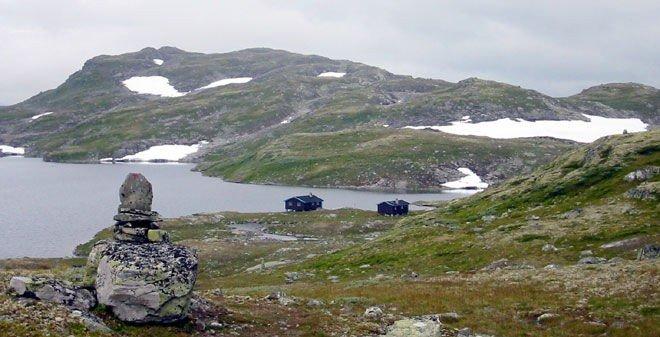 Slettningsbu i Jotunheimen.