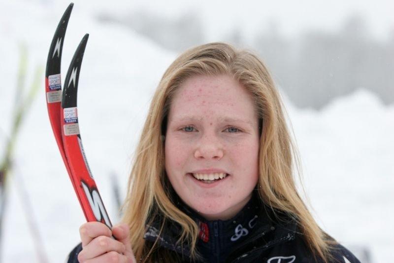 242 deltakere startet i årets sørkedalsrenn. her er Karianne Jevne fra Heming.