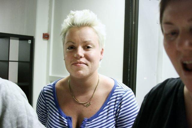 Kafeens leder Pia Fossum er spent på mottakelsen av det nye jentetilbudet på Furuset