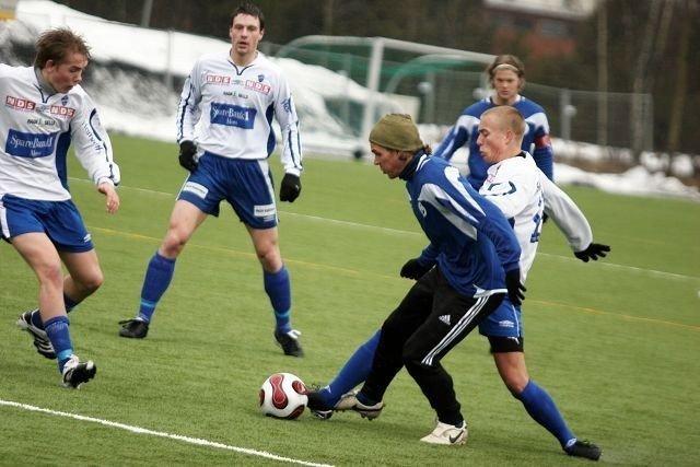 Stian Sortevik erikke lett å stoppe, og skapte til tider trøbbel for Sprint-forsvaret.