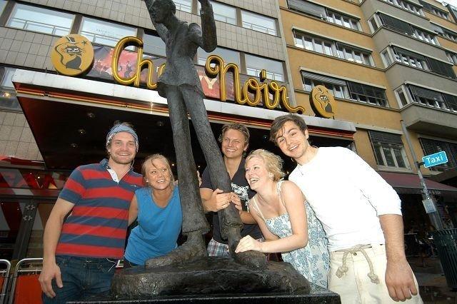 Jan Fredrik Tønnessen, Vibeke Rasmussen, Fredrik Brede Rogge Loennecken, Hege Grøndahl og Eirik Sønstebø. foto: Elisabeth c. Wang