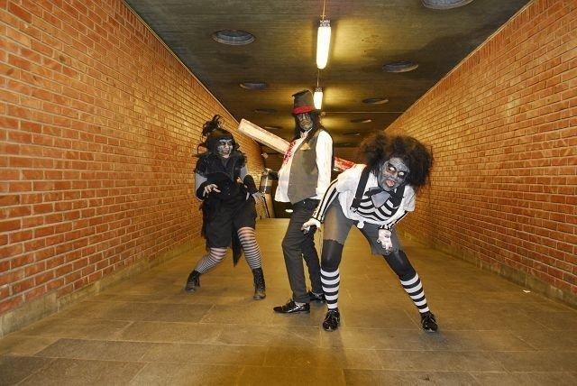 Performancegruppen «In Suspenso» var blant dem som fikk være med som «Nisjelandet»-prosjekett i fjor. Nå søker de nye talenter utenom det vanlige. FOTO: KNUT BRY/TINAGENT