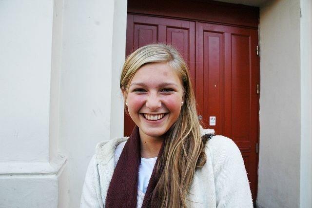 Vilde Letita Vig(15): Jeg vil gjerne stemme, men jeg vet ikke om det vil bli tatt seriøst av alle andre.