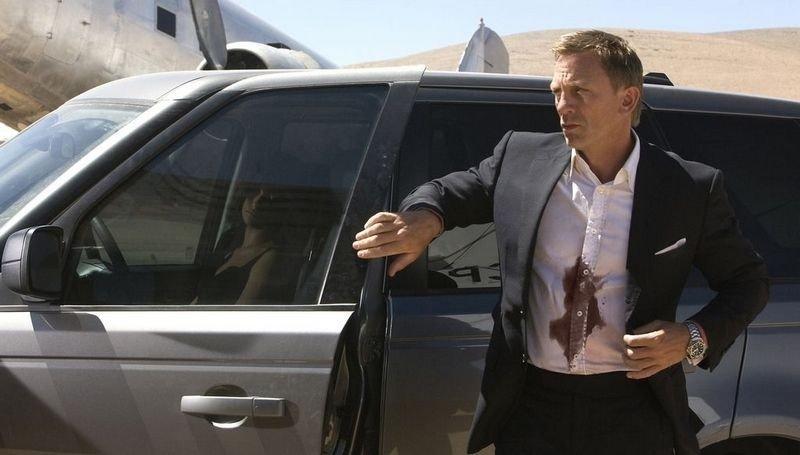 James Bond er tilbake.
