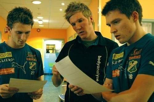 Magne Simonsen, Kristian Holteberget og Thomas Jacobsen.