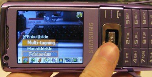 MIDDELMÅDIG: Kameraet til L700 er dårlig. Selv når du holder telefonen helt stille blir bildene lett uklare.