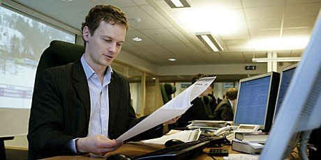 makrøkonom Bjørn Roger Wilhelmsen i meglerhuset First Securities