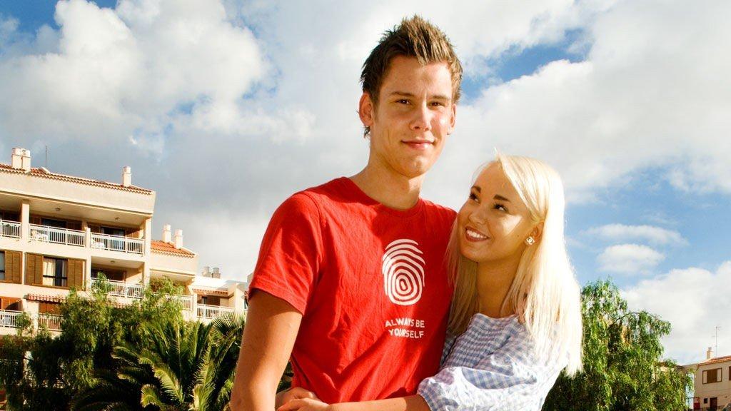 Are og Christina var Charterfebers eneste kjærestepar. Nå er det derimot slutt.
