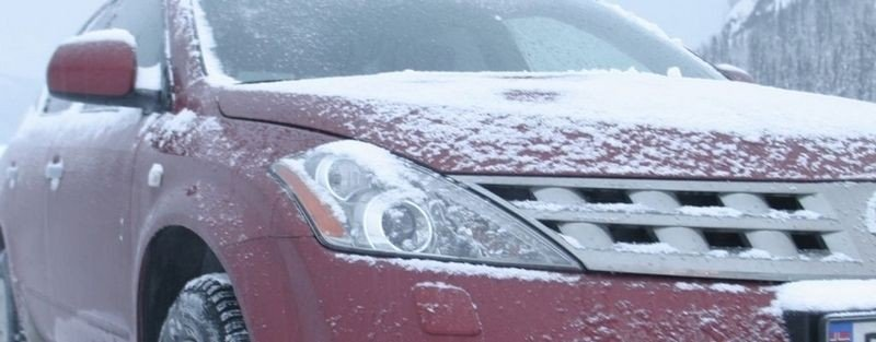 FROST: Lite frostvæske kan i verste fall medføre at hele motorblokka sprekker.
