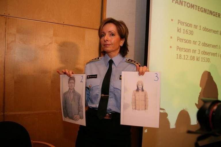Volds- og sedelighetsseksjonen ved Oslo politidistrikt har et uvanlig høyt arbeidspress for tiden. Her er Hanne Kristin Rohde under en pressekonferanse i forbindelse med drapet på Hoff.