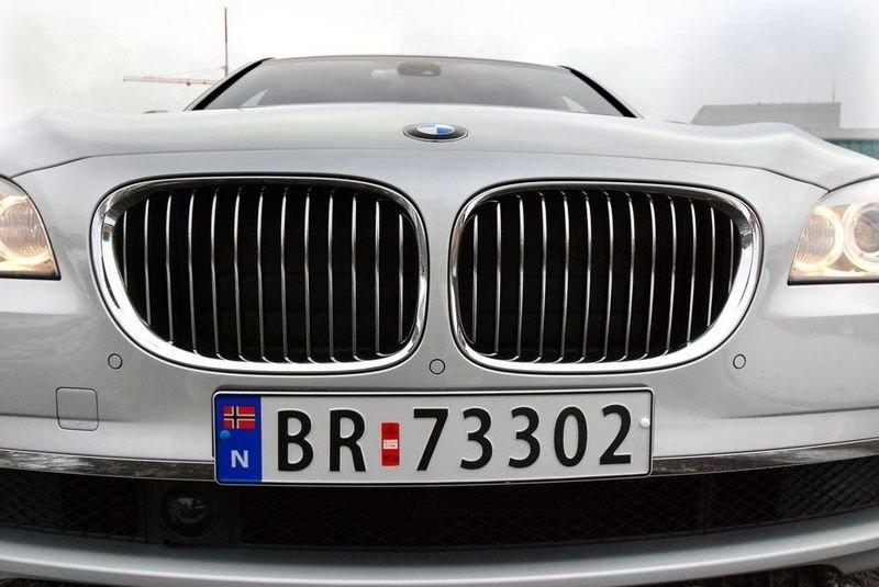 GRILLKONGEN: En mektig grill for en mektig bil