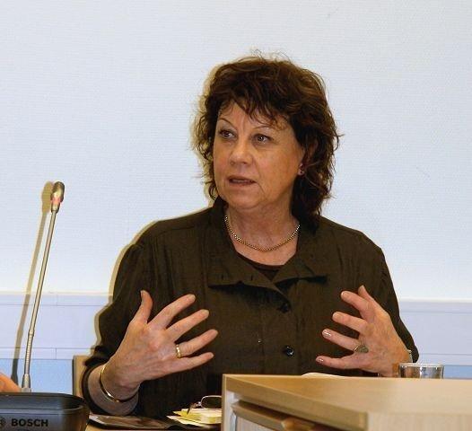 Vi er svært bekymret, sa bydelsdirektør Mona Taasen om Nordre Akers økonomi i BU-møtet 5.2. Kristin Tufte Haga