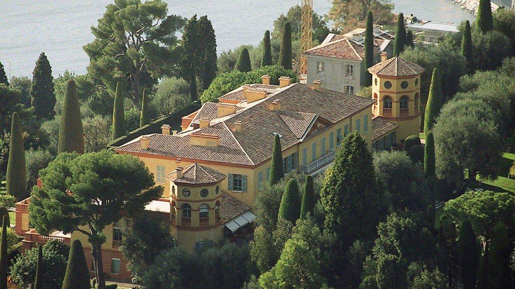 FRANSK PERLE: Villa Léopolda på den franske rivieraen er verdens dyreste bolig.