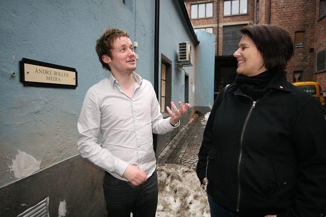 Glenn Erland Tosterud i Andre Boller Media er glad for at Tone Tellevik Dahl (Ap) og hennes bystyrekollegaer sikret bevaring av lokalene i Teglverksgata 2.