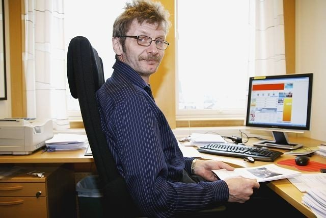 Forbundssekretær i Norsk Transportarbeiderforbund Geir Kvam.