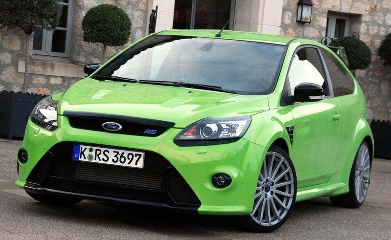 LYNRASK: Ford Focus RS er en fantastisk morsom bil å kjøre.