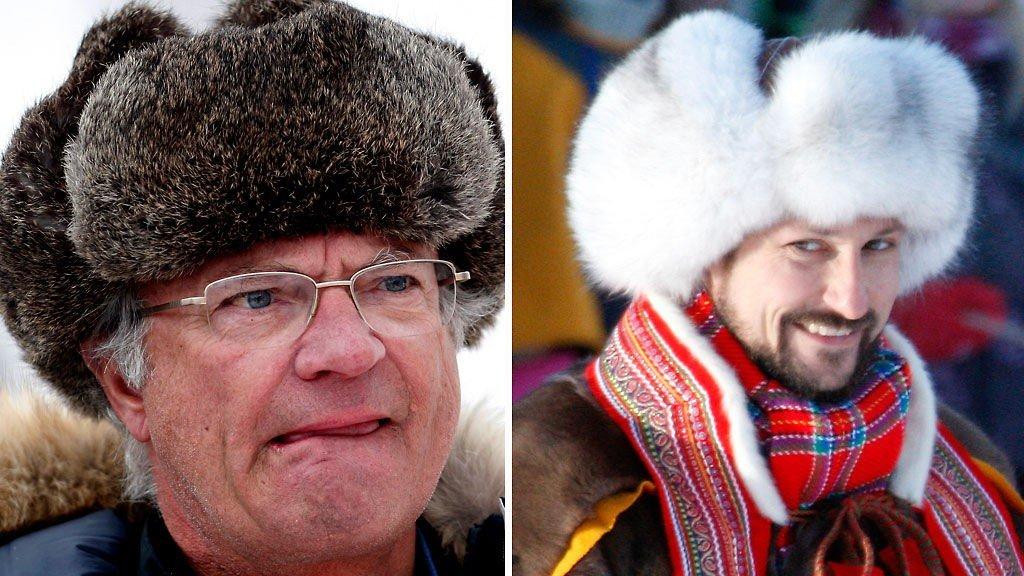 BF: Carl Gustaf tydde til lueklassikeren i Åre onsdag denne uken - Haakons Finnmarkslue ble kalt sexy.