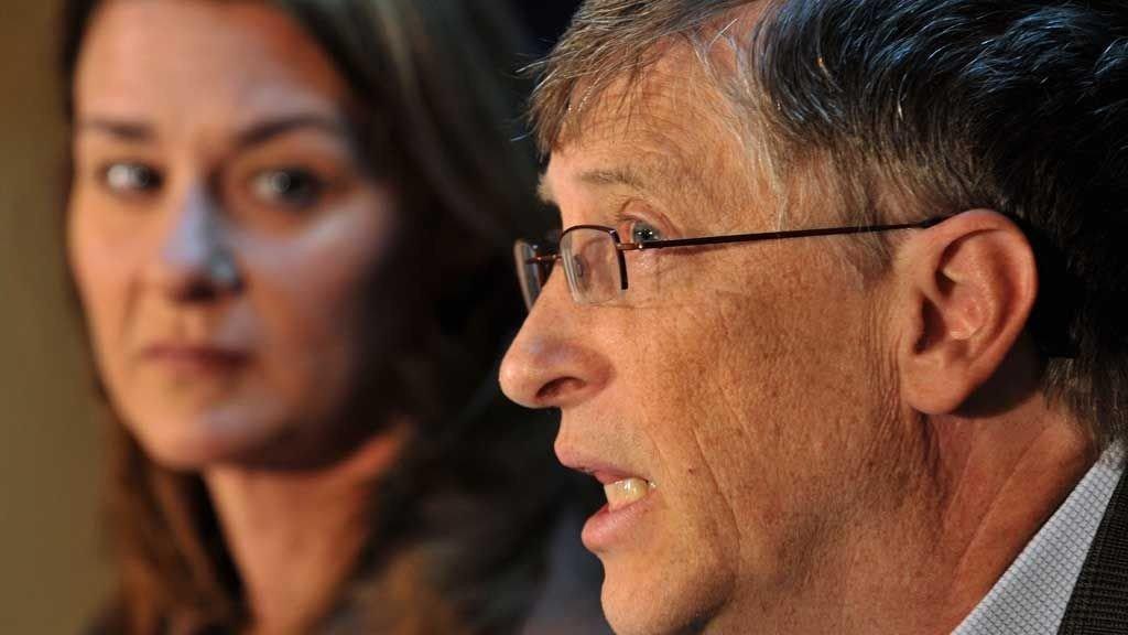 Bill Gates og kona Melinda