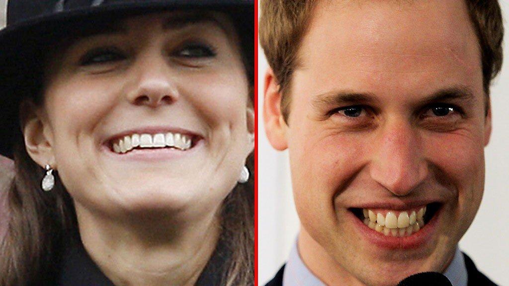 FRIDDE PÅ HYTTA: Fransk ukeblad hevder William fridde på trehytta han og Kate slappet av på i januar.