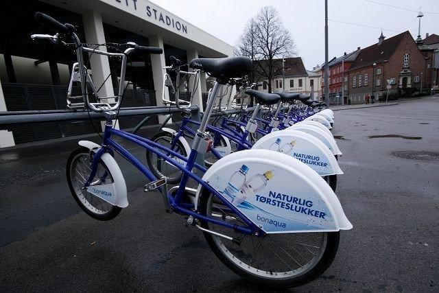 Like før påske var bysyklene igjen på plass i Oslos gater, i år med flere både sykler og stativer over hele byen. FOTO: HEGE BJØRNSDATTER BRAATEN