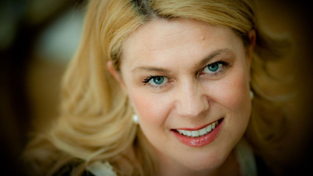 FEMININ: Birgitte Lund Nakken fra Studio FEM er glad i det klassiske og feminine.
