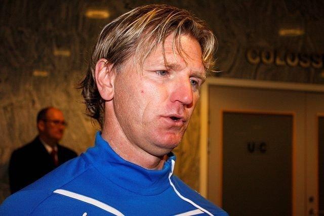 Kent Bergersen er på vei ut av Lyn. Klubbledelsen ønsker ikke lenger at «Kenta» skal lede det kriserammede laget. Arkivfoto