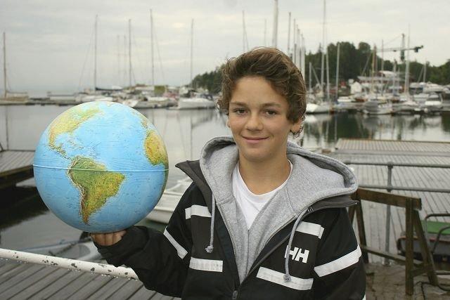 Hartvig Johannson fra Holmenkollen har seilt i mange land allerede.