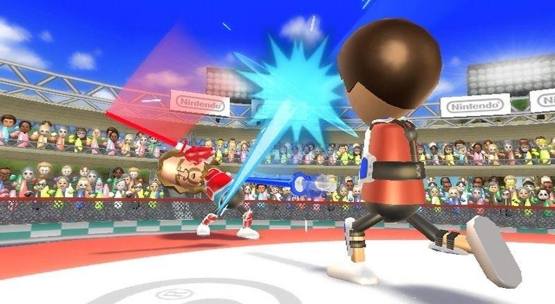 MOTION: Wii Motionplus hever Wii Sports Resort. Lyssverdkampene er vår favoritt.
